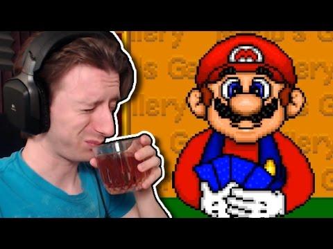 DRINKING WITH MARIO │ Mario Go Fish │ ProJared Plays!