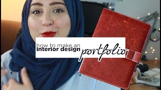 How To Make An Interior Design Portfolio Using PowerPoint | Tips, Example, And Template