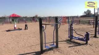 Восьмидомики Новая детская площадка
