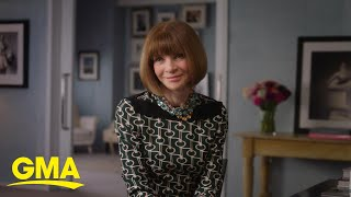 Anna Wintour To Share Tips For Success In New Class | GMA