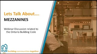 Mezzanines in the Ontario Building Code – RSM Building Consultants
