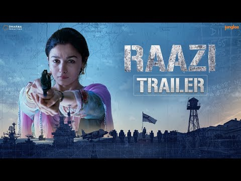 Raazi - Movie Trailer Image
