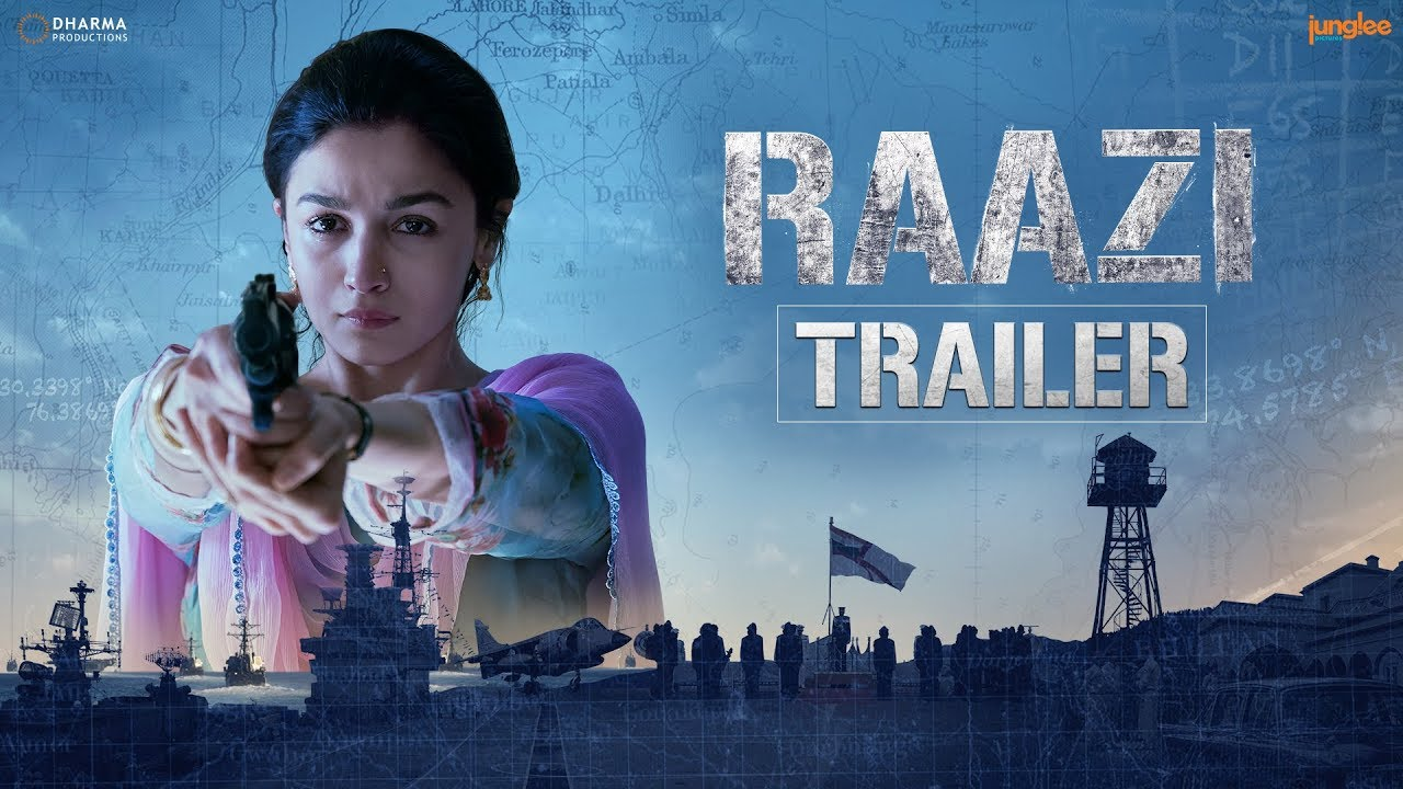'Raazi' Official Trailer
