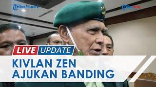 Tak Terima Vonis 4 Bulan Penjara Kasus Kepemilikan Senpi Ilegal, Kivlan Zen Ajukan Banding