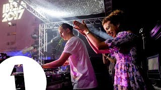 Disclosure B2B Annie Mac - Live @ Cafe Mambo for Radio 1 Ibiza 2017