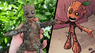 Make Your Own Baby Groot!   Marvel Mission
