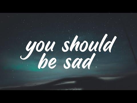 Halsey - You should be sad (Clean - Lyrics)