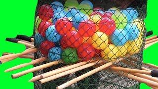 Çubuğu Çek - Topları Rakiplerine Düşür |Eğlenceli Parti Oyunu