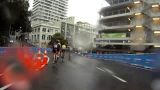 preview picture of video 'ITU World Triathlon Auckland - Junior men'