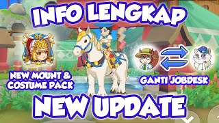 Info Lengkap New Update Tour Of Neverland Dan Knight Costume Pack
