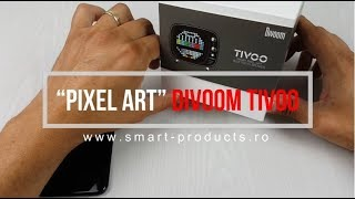 "Review Divoom TIVOO -  Boxa Bluetooth ""Pixel art"""