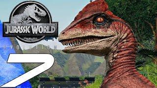 Jurassic World Evolution - Gameplay Walkthrough Part 7 - Isle Tacano (Ultra Settings)