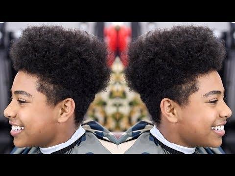 Barber Tutorial Hightop Burst Taper Fade