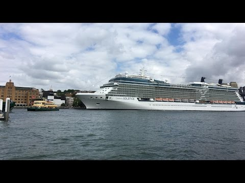 2017 01 Australia & New Zealand cruise on Celebrity Solstice