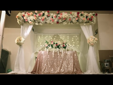 mp4 Decoration Wedding Canopy, download Decoration Wedding Canopy video klip Decoration Wedding Canopy