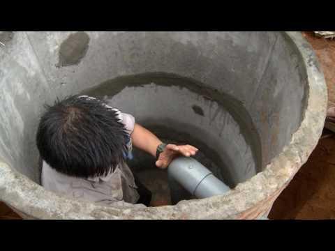 Quy trình lắp đặt nhà tiêu tự hoại bằng ống bi bê tông - bản full