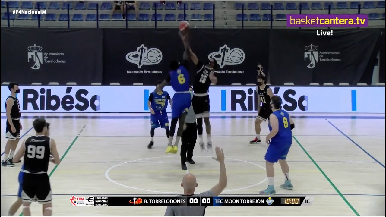Ascenso EBA: B. TORRELODONES vs TORREJÓN.- Por 3/4 puesto #F4Nacional FBMadrid 2021