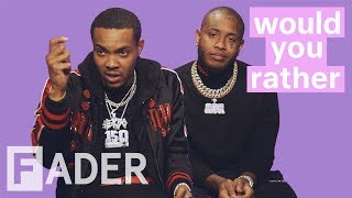 """G Herbo and Southside discuss boxing Trump and more 