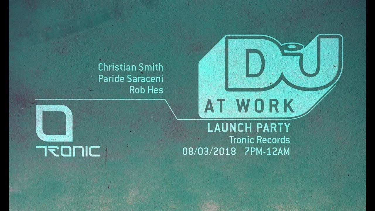 Christian Smith - Live @ DJ Mag x Work 2018