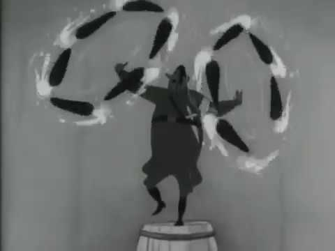 """Cinema Circus"" Soviet 1942 film"