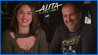 Interviews Alita:Battle Angel chez Weta Digital (ft. Rosa Salazar)