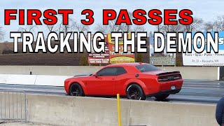 Demon goes to Great Lakes (1st time drag racing)