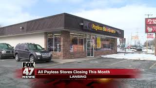 Payless Shoes to close 400 locations nationwide