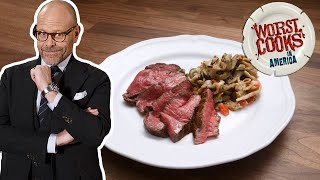 Alton Brown Makes Reverse-Sear Filet Mignon (or Ribeye Filet)