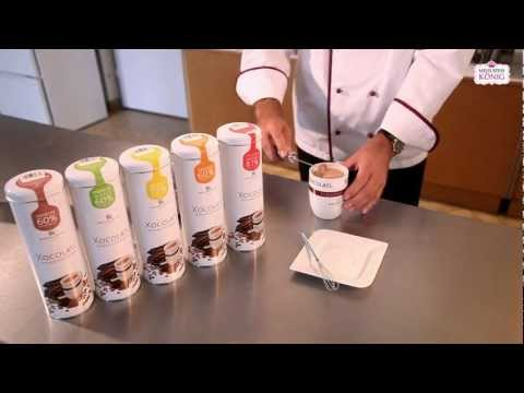 Maitre Chocolatier Helmut Wenschitz: Zubereitung von Xocolatl - Trinkschokolade
