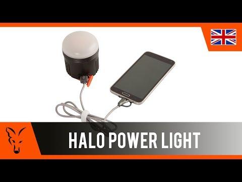 Fox Halo Power light lámpa videó