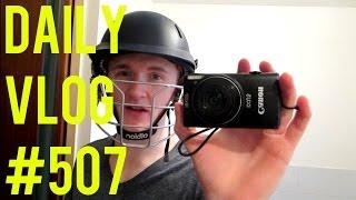 NEW CRICKET EQUIPMENT! | ItsJamieIRL Daily Vlog #507