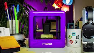 超コンパクト!!TheMicroPlus家庭用デスクトップ型3Dプリンター