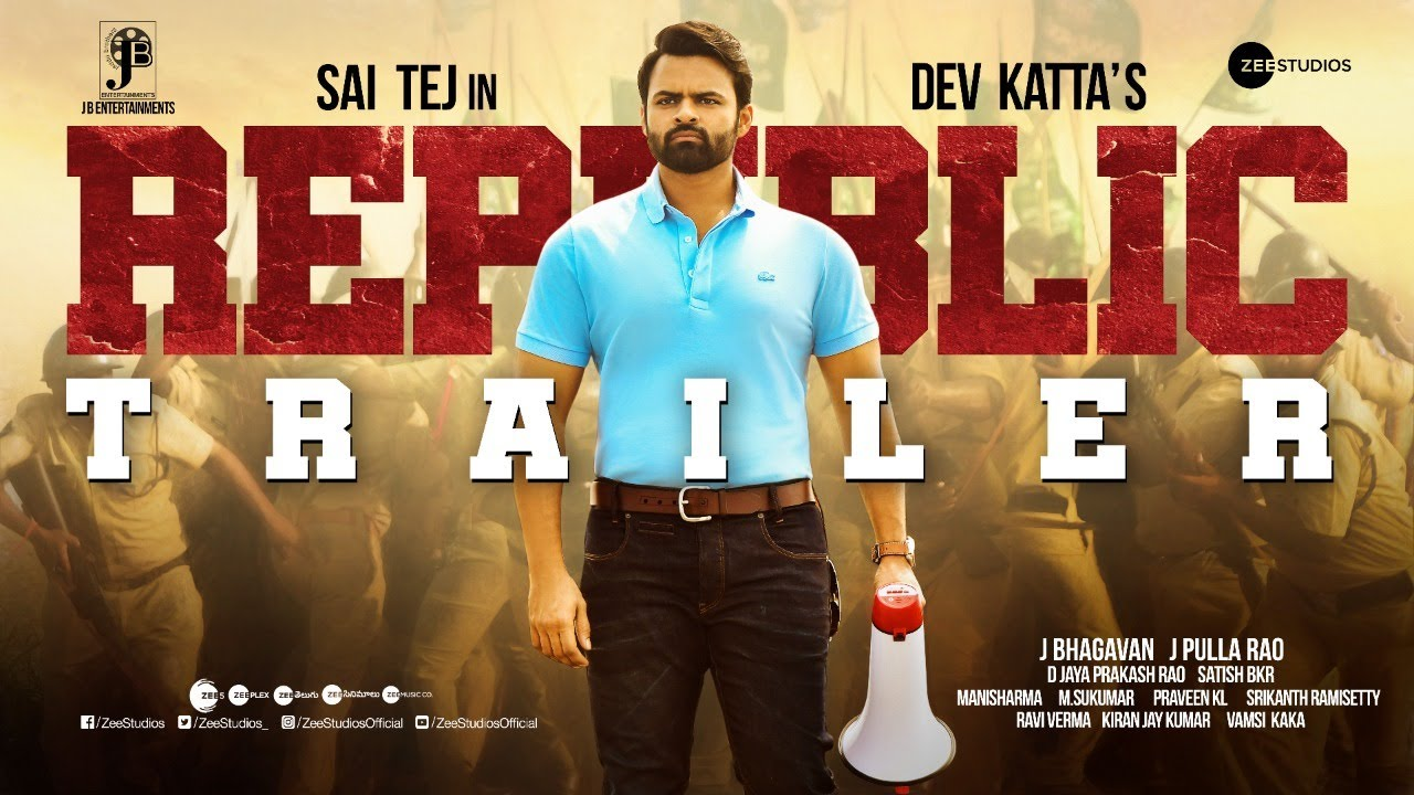Sai Dharam Tej's Republic Trailer