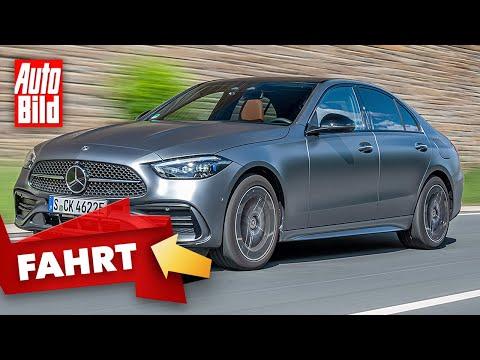 Mercedes C-Klasse (2021) | Unterwegs in der neuen C-Klasse |Erste Fahrt mit Stefan Novitski