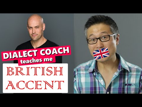 How to Do a British Accent for Acting | Dialect Coach Teaches Me!