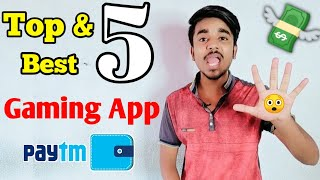 Top 5 Gaming Earning App In 2020 || Play Simple Games & Earn Real Paytm Cash || Google Tricks