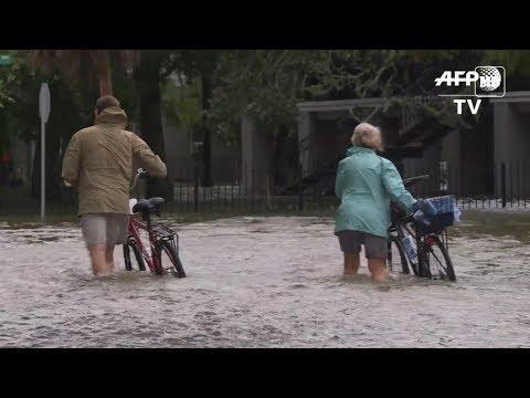 USA: Louisiana areas flooded after Hurricane Barry made landfall