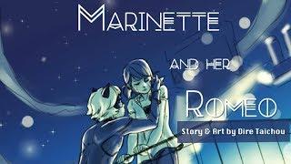"""MARINETTE AND HER ROMEO"" - COMPLETE - Miraculous Ladybug Comic Dub Compilation | Valory Pierce"
