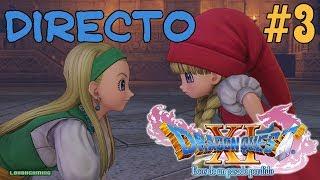Dragon Quest XI - Directo #3 - Español - Guía 100% - Nuevos Personajes - Secundarias - Ps4 Pro