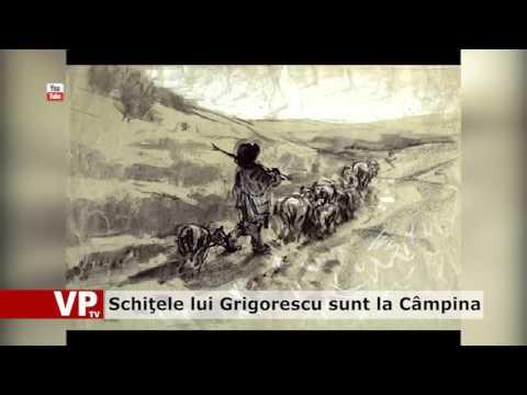 Schiţele lui Grigorescu sunt la Câmpina