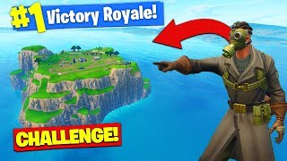 The *SPAWN ISLAND* CHALLENGE In Fortnite Battle Royale!