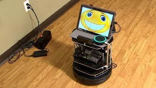 Robot gives support at B.C. group home for seniors