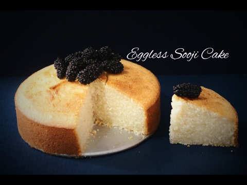 Video No Eggs, No Butter, No Oil Iyengar Bakery Sooji Cake in Convention Microwave(Eggless Semolina Cake)