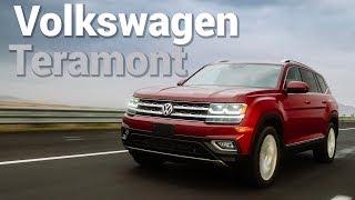 Volkswagen Teramont - La hermana mayor de la Tiguan   Autocosmos