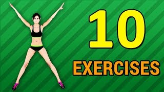 10 Simple Exercises To Lose Weight At Home