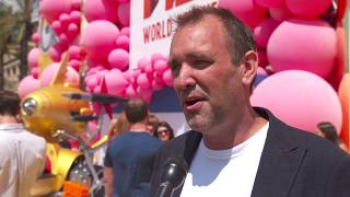 Despicable Me 3 World Premiere Los Angeles Interview Trey Parker ( official video)