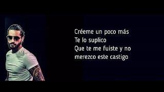 Karol G, Maluma   Créeme   Lyrics  Letra