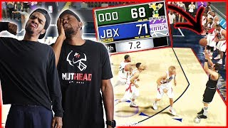 7.2 SECONDS LEFT! 3 POINTER TO SEND IT TO OVERTIME!?! - MyTeam Battles Ep.14