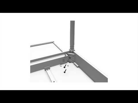 Video for White 2 Drawer Writing Desk