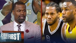 Stephen Jackson on why LeBron's Hollywood ending is with Spurs not Lakers | NBA | FIRST THINGS FIRST